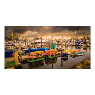 Oceanside Harbot, Oceanside California Card