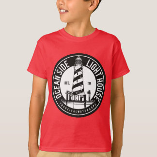 Oceanside Lighthouse Kids' TAGLESS® T-Shirt