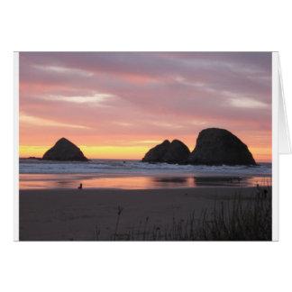 Oceanside, Oregon Card