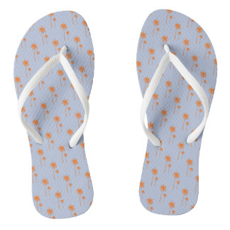 Oceanside Palms Flip Flops