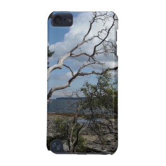 Oceanview with Unique Trees iPod Touch 5G Cases