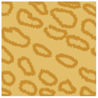 Ocelot Animal Print Pattern, Brown and Tan Colors. Cut Outs