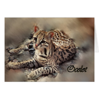 Ocelot art card