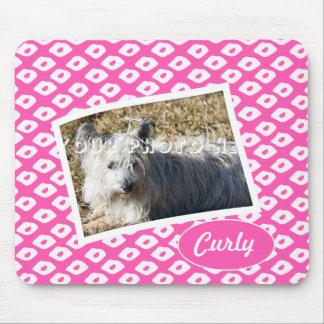 Ocelot Photo Frames - Pink Mouse Pad