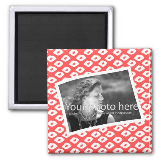 Ocelot Photo Frames - Red Magnet