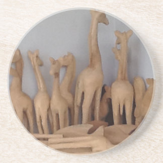 Ocho carvings coaster