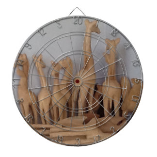 Ocho carvings dartboard with darts