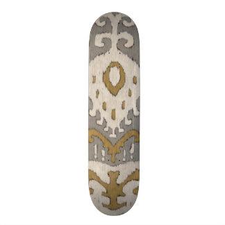 Ochre Ikat II Skate Board Deck