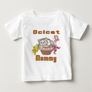 Ocicat Cat Mom Baby T-Shirt