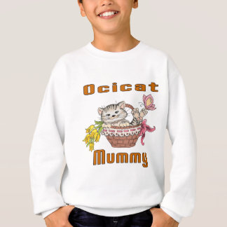Ocicat Cat Mom Sweatshirt
