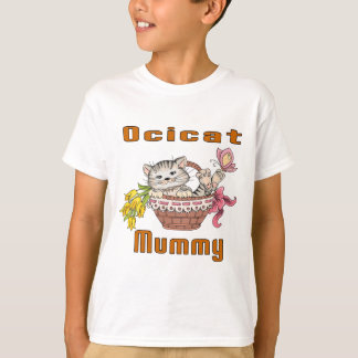 Ocicat Cat Mom T-Shirt