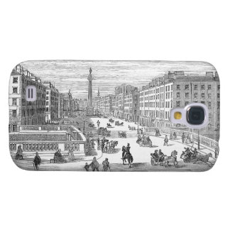 O'Connell Street Vintage Dublin Ireland Galaxy S4 Samsung Galaxy S4 Case