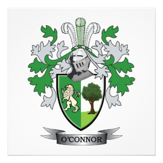 O'Connor Coat of Arms Photo Art
