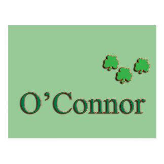 O'Connor Family Postcard