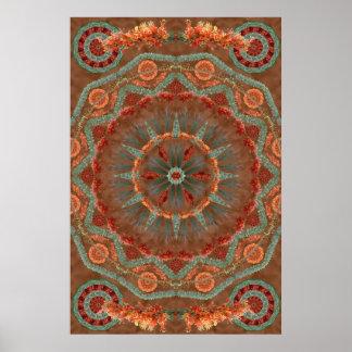 Ocotillo Mandala 1 Poster
