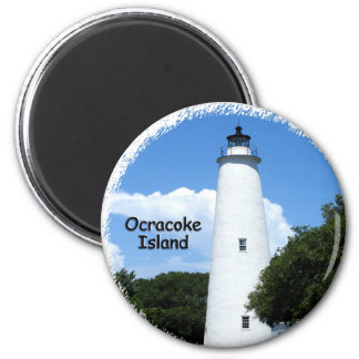 Ocracoke Island Light Magnet
