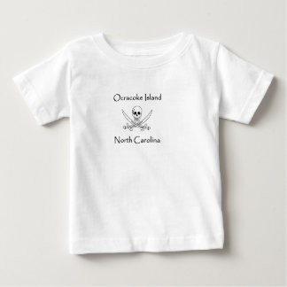 Ocracoke Island North Carolina Pirate Logo Baby T-Shirt