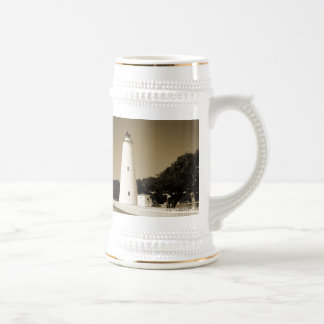 Ocracoke Lighthouse Beer Stein