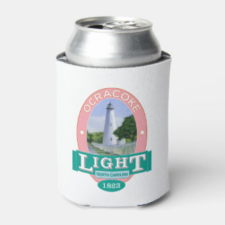 Ocracoke Lighthouse Can Cooler