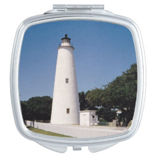 Ocracoke Lighthouse Mirror For Makeup