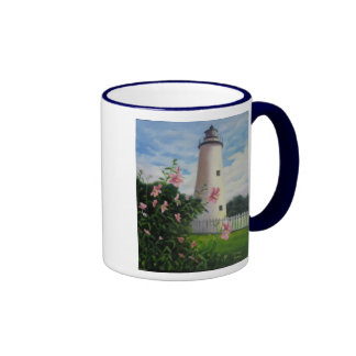 Ocracoke Lighthouse Ringer Mug