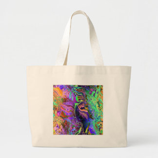 oct16_ff_distort_paint_6500 large tote bag