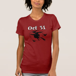Oct 31 Flying Witch Tshirt