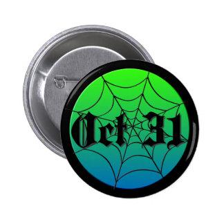 Oct 31 Spider Web Pins