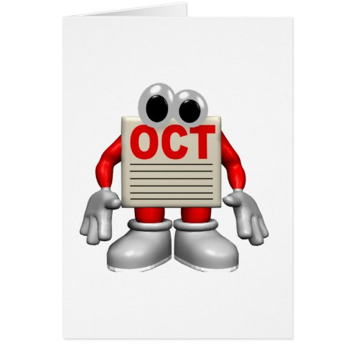 Oct Card