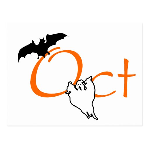 Oct (Halloween) Post Card