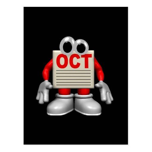 Oct Post Card