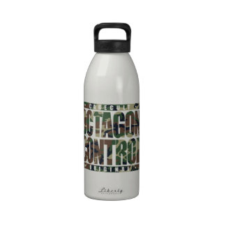 OCTAGON CONTROL: Mixed Martial Arts, Camouflage Drinking Bottles