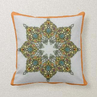 Octagonal Cushion Vegetal Pattern 1 (polyester)