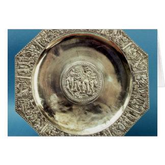 Octagonal Dish from Kaiseraugst, Roman Card