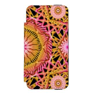 Octagonal Flower Mandala Incipio Watson™ iPhone 5 Wallet Case