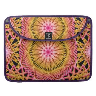 Octagonal Flower Mandala Sleeves For MacBook Pro