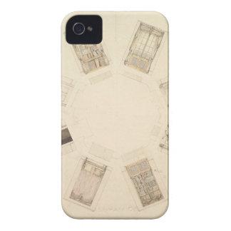 Octagonal Room iPhone 4 Case-Mate Cases