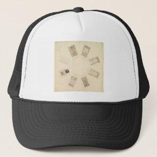 Octagonal Room Trucker Hat