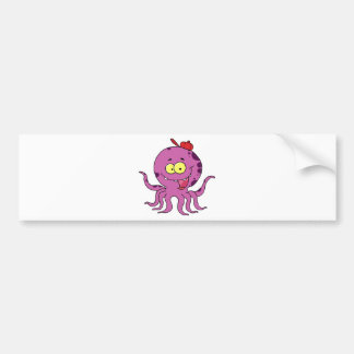 Octave the Octopus Bumper Sticker