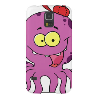 Octave the Octopus Galaxy S5 Covers
