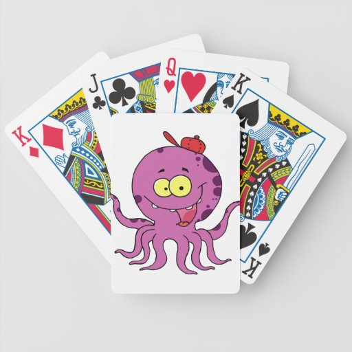 Octave the Octopus Deck Of Cards