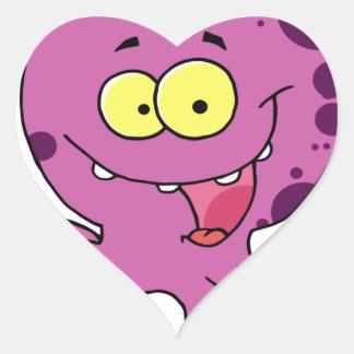 Octave the Octopus Heart Sticker