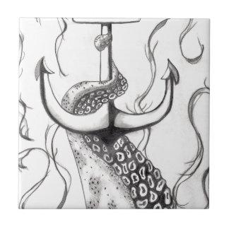 Octo Anchor Ceramic Tile