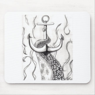 Octo Anchor Mouse Pad