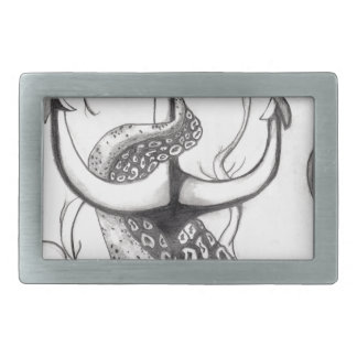 Octo Anchor Rectangular Belt Buckle