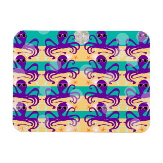 Octo Party Octopus Pattern Magnet