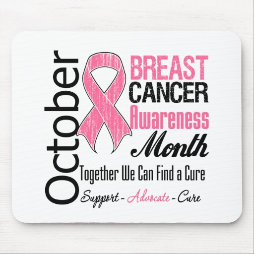 October - Breast Cancer Awareness Month Mouse Pad
