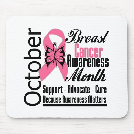 October Commemorate Breast Cancer Awareness Month Mouse Pads