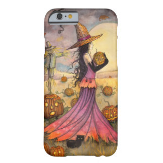 October Fields Halloween Witch iPhone 6 case Barely There iPhone 6 Case