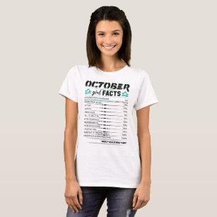 October Girl Facts Libra T-Shirt